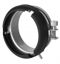 Die S-Bajonett-Adapter für universat Studioblitze, 9,5 cm (f.ex. Godox 160watt)
